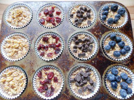 oatmeal muffinss