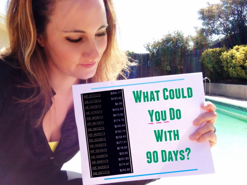 what could you do with 90 days