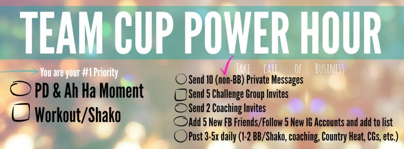 team cup power hour